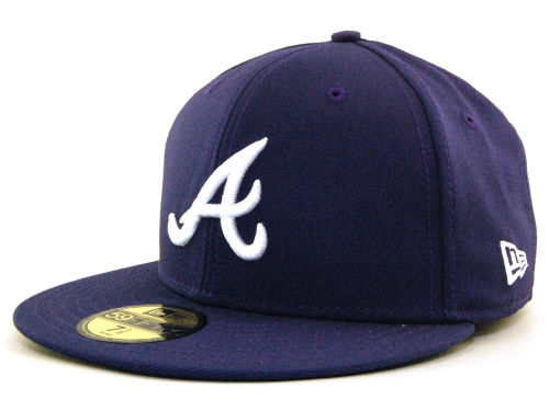 Atlanta Braves New Era MLB C-Dub 59FIFTY Hats