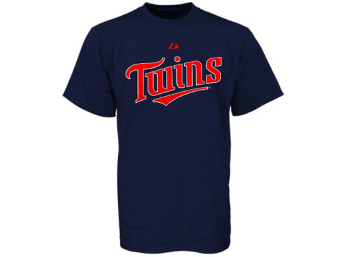 Minnesota Twins Profile MLB Wordmark T-Shirt