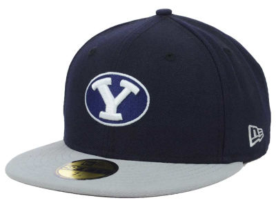Brigham Young Cougars NCAA 2 Tone 59FIFTY Cap Hats