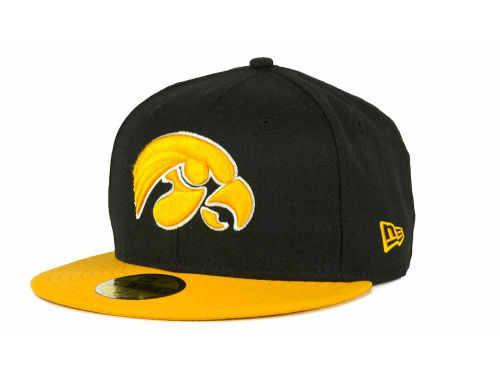 Iowa Hawkeyes New Era NCAA 2 Tone 59FIFTY Hats