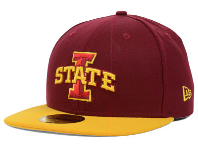 Iowa State Cyclones NCAA 2 Tone 59FIFTY Cap Hats