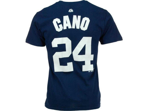 New York Yankees Robinson Cano Majestic MLB Player T-Shirt