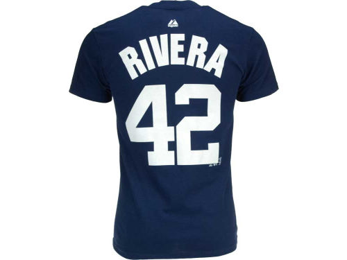 New York Yankees Mariano Rivera Majestic MLB Player T-Shirt