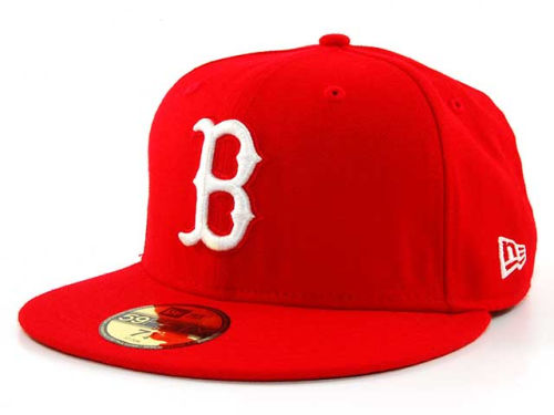 Boston Red Sox New Era MLB C-Dub 59FIFTY Hats