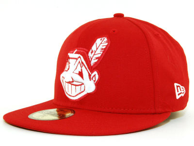 Cleveland Indians MLB C-Dub 59FIFTY Cap Hats
