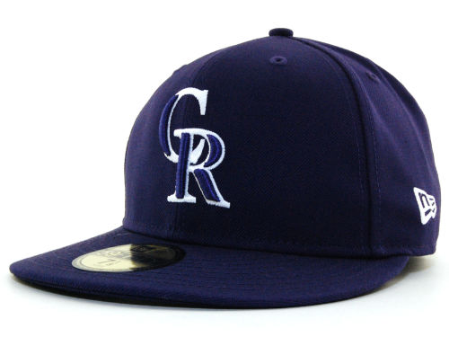 Colorado Rockies New Era MLB C-Dub 59FIFTY Hats