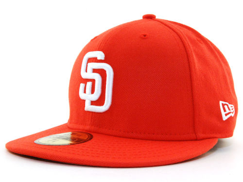 San Diego Padres New Era MLB C-Dub 59FIFTY Hats