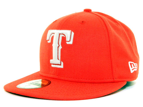 Texas Rangers New Era MLB C-Dub 59FIFTY Cap Hats
