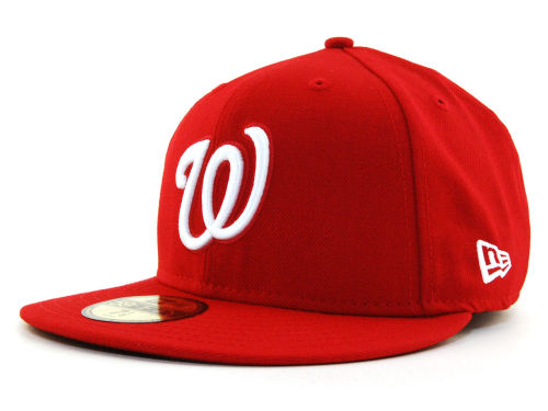 Washington Nationals New Era MLB C-Dub 59FIFTY Hats