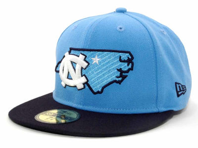North Carolina Tar Heels NCAA State 59FIFTY Hats