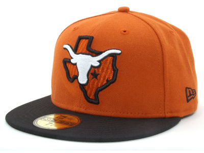 Texas Longhorns NCAA State 59FIFTY Hats
