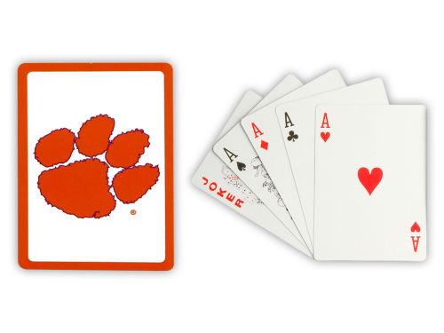 Clemson Tigers Hunter Manufacturing Playing Cards
