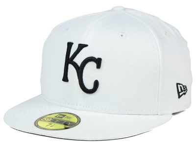 Kansas City Royals MLB White And Black 59FIFTY Hats