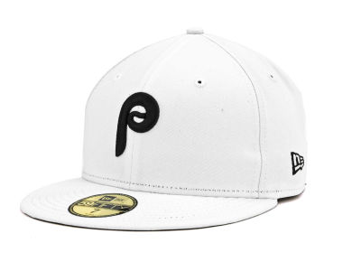 Philadelphia Phillies MLB White And Black 59FIFTY Cap Hats
