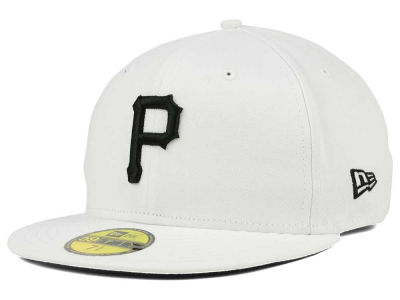 Pittsburgh Pirates MLB White And Black 59FIFTY Cap Hats