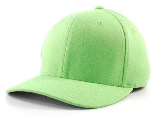 Lime Home Run Flexfit  Hats