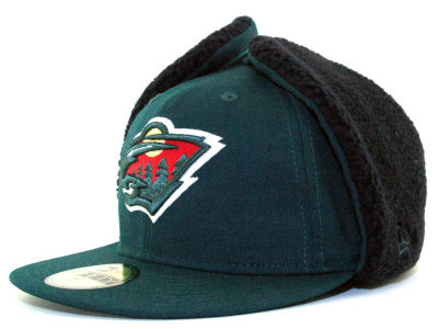 Minnesota Wild NHL Dogear 59FIFTY Hats