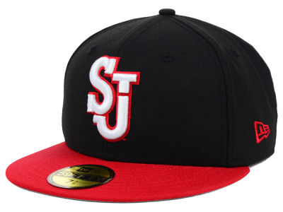 St Johns Red Storm NCAA 2 Tone 59FIFTY Cap Hats