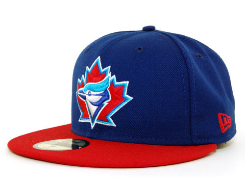Toronto Blue Jays New Era MLB Cooperstown 59FIFTY Cap Hats
