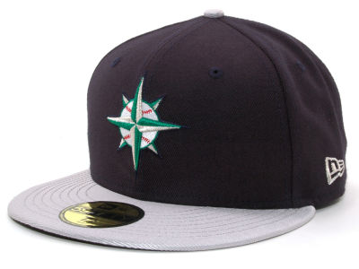 Seattle Mariners MLB Cooperstown 59FIFTY Cap Hats