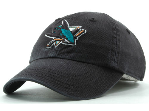 San Jose Sharks NHL Kids '47 CLEAN UP Cap Hats