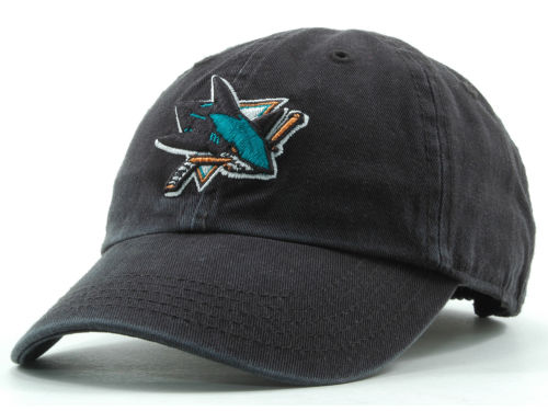San Jose Sharks '47 Brand NHL Kids Clean Up Hats