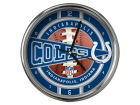 Indianapolis Colts Chrome Clock Bed & Bath