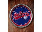 New York Giants Chrome Clock Bed & Bath
