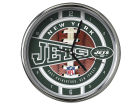 New York Jets Chrome Clock Bed & Bath
