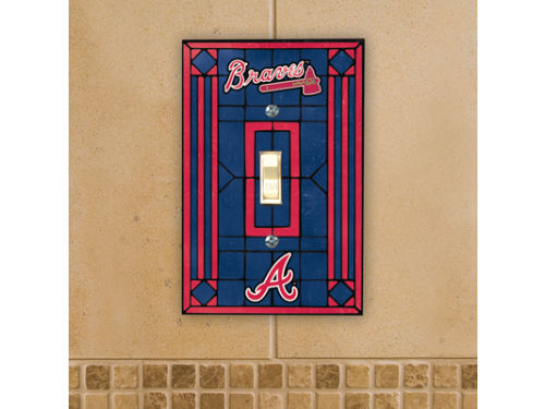Atlanta Braves Switch Plate Cover
