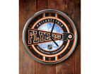 Philadelphia Flyers Chrome Clock Bed & Bath