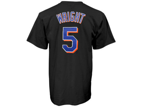 New York Mets David Wright Majestic MLB Youth Player T-Shirt