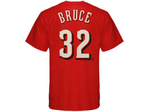 Cincinnati Reds Jay Bruce Majestic MLB Youth Player T-Shirt