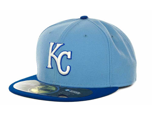 Kansas City Royals New Era MLB Authentic Collection 2015 XP 59FIFTY Cap Hats