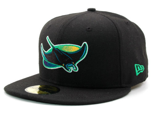 Tampa Bay Rays New Era MLB Cooperstown 59FIFTY Cap Hats
