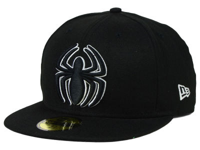 Marvel Spiderman Comic Black and White 59FIFTY Hats