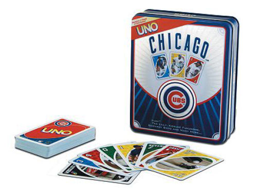 Chicago Cubs Uno Cards