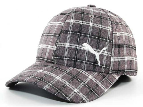 Puma Venetian Plaid Flex Cap Hats