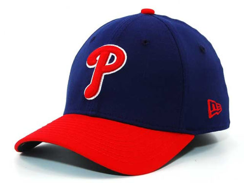 Philadelphia Phillies New Era MLB Single A 39THIRTY Hats
