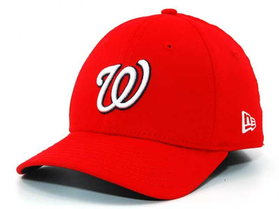 Washington Nationals MLB Single A 39THIRTY Hats