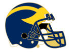 Michigan Wolverines Helmet Pin Apparel & Accessories