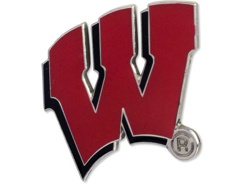 Wisconsin Badgers Logo Pin