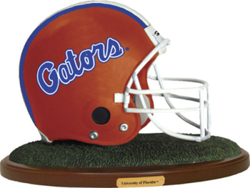 Florida Gators Replica Helmet with Wood Base