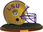 LSU Tigers Replica Helmet with Wood Base Collectibles