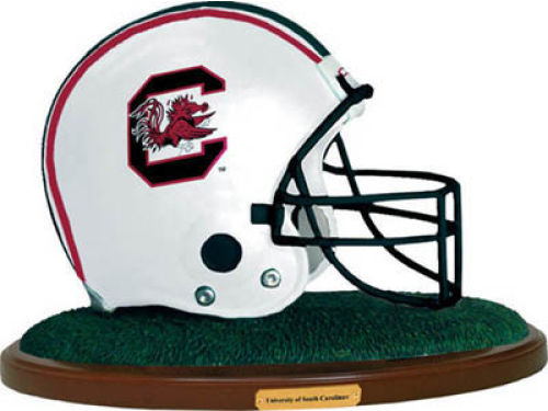 South Carolina Gamecocks Replica Helmet with Wood Base