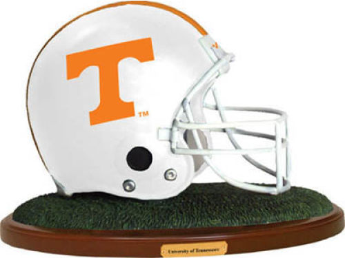 Tennessee Volunteers Replica Helmet with Wood Base