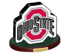 Ohio State Buckeyes 3D Logo with Wood Base Knick Knacks