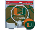 Miami Hurricanes Jarden Sports Slam Dunk Hoop Set Outdoor & Sporting Goods