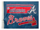 Atlanta Braves Rico Industries Car Flag Rico Auto Accessories