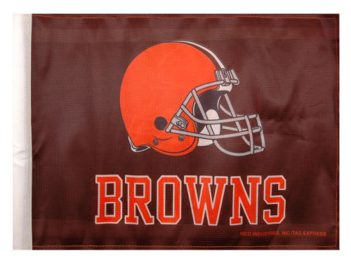 Cleveland Browns Rico Industries Car Flag Rico